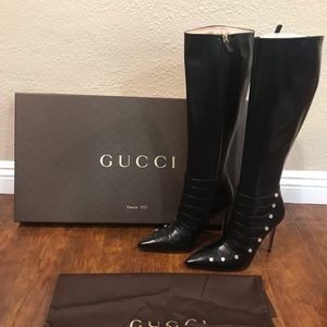 Gucci women's knee high boots